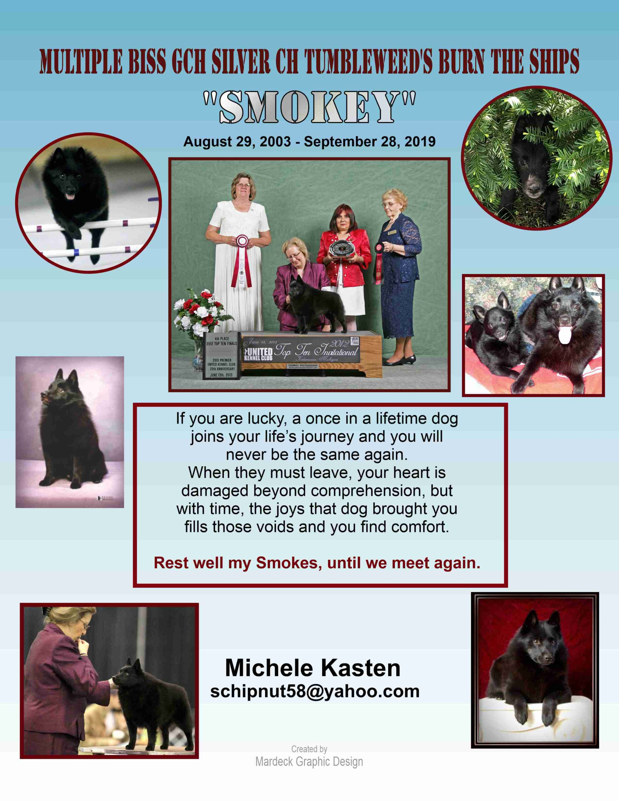 5 – FINAL Revised Kasten – Smokey Bulletin ad Page Two – Draft 3